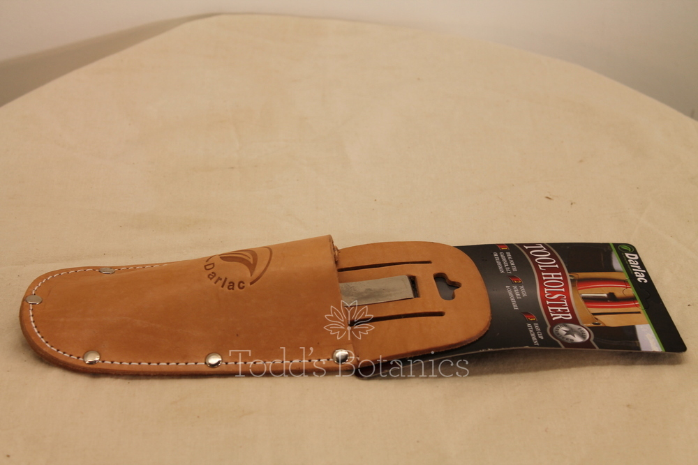 Leather holster for secateurs prunners for Gardening tools secateurs