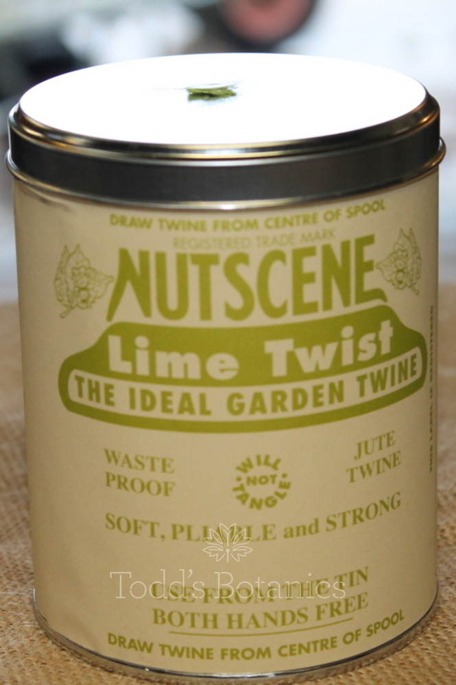 A Big Tin of String - Nutscene Green