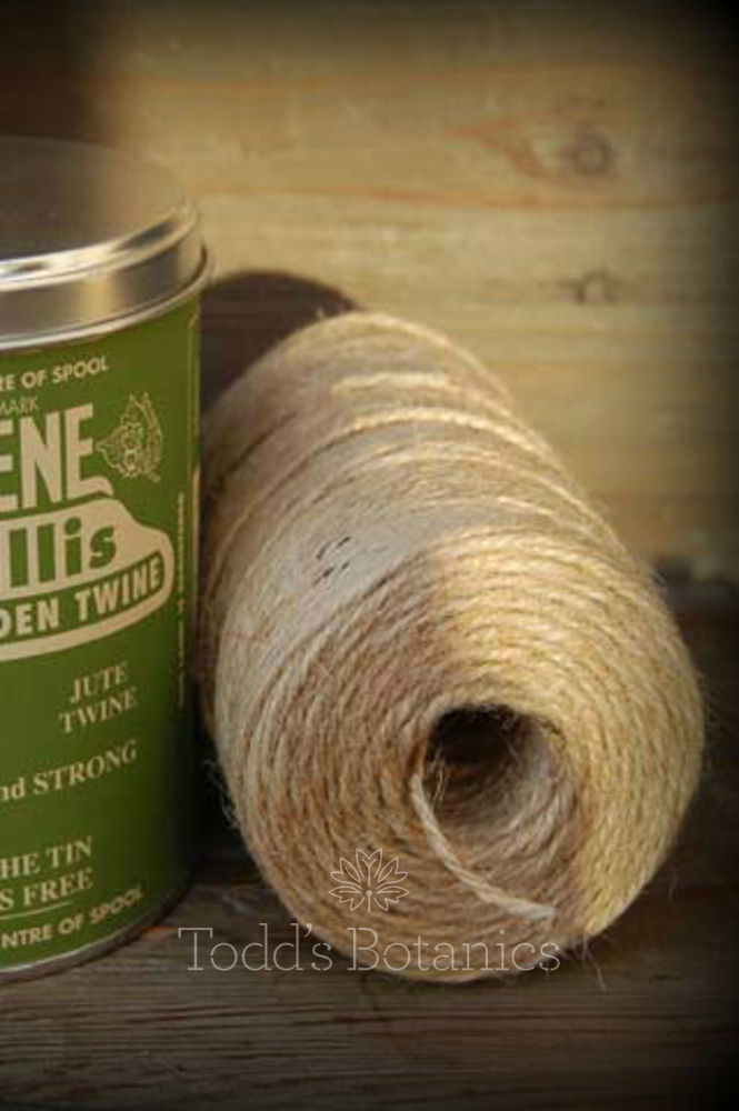 A Big Tin of String - Nutscene Natural