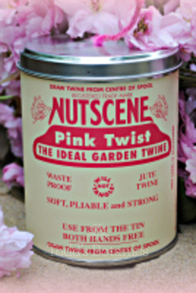 A Big Tin of String - Nutscene Pink