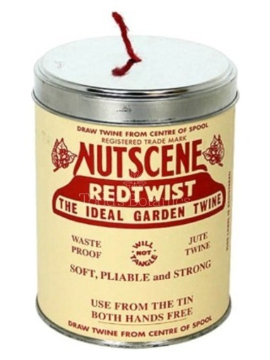 A Big Tin of String - Nutscene Red