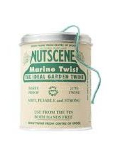 A Big Tin of String - Nutscene Blue