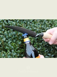Hand Trowel with Built in Bottle Opener